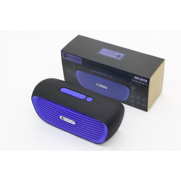 Колонка портативная с BLUETOOTH MP3 NR2019