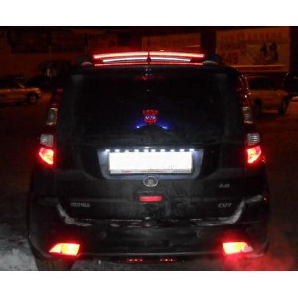 Подсветка номера автомобиля