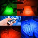 Светодиодная многоцветная подсветка салона