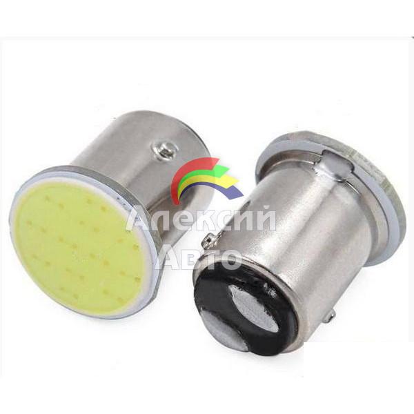 Лампы светодиодные BAY15D (2 контакта) СОВ диод (габариты, стоп сигнал), 2шт