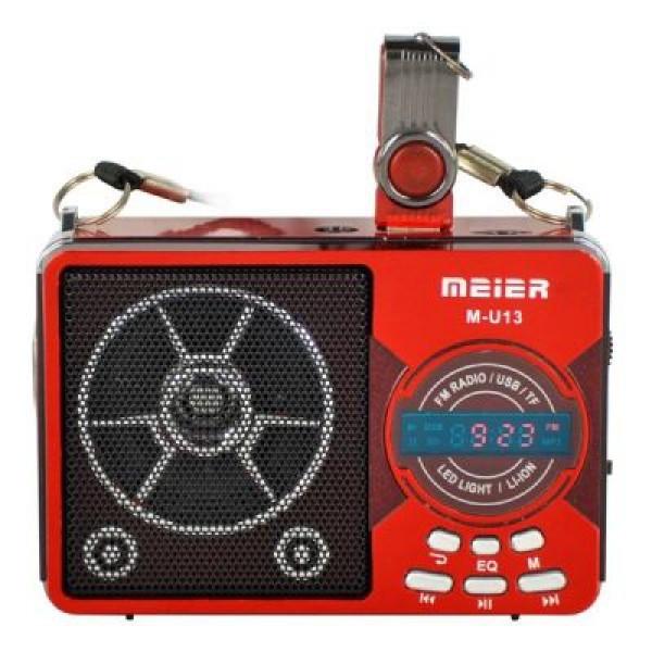 Радиоприемник mp3 на аккумуляторе + фонарик U13