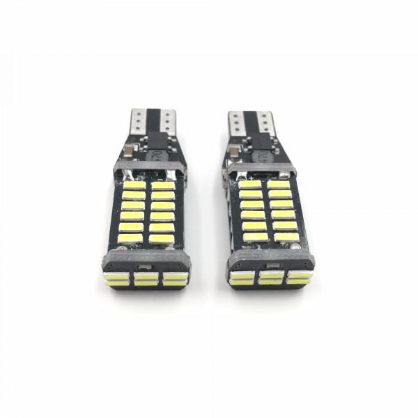 Лампы светодиодные 30smd 4014, Т10, 2шт