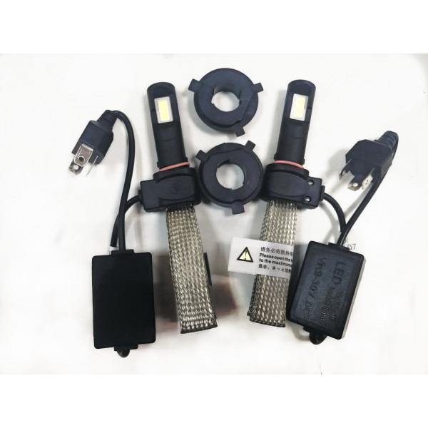Лампы LED Н4 с гибким радиатором охлаждения