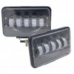 LED фары противотуманные 50w