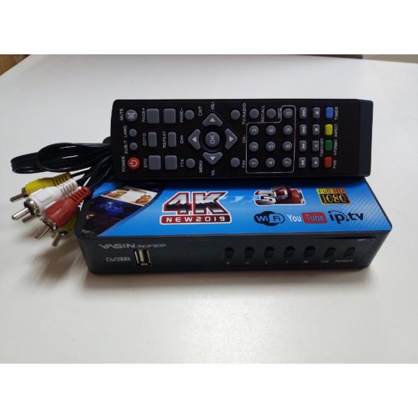 Цифровой телевизионный приемник YASIN SUPER T80