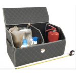 складной органайзер в багажник из экокожи