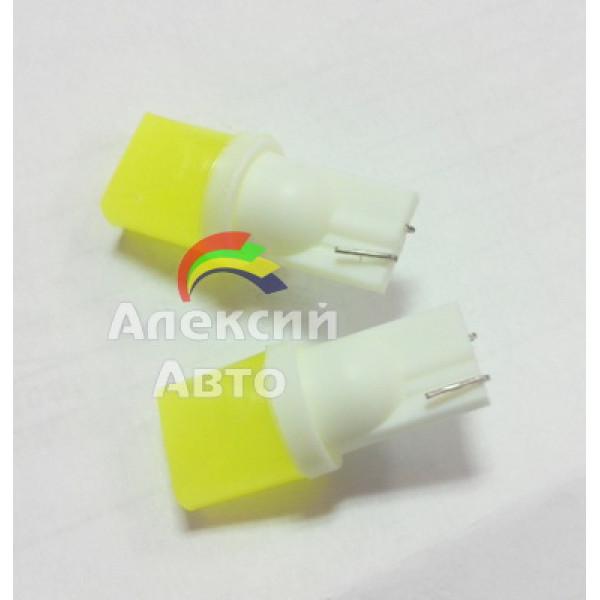 Лампы светодиодные Т10 фарфор диод COB 2C, 2шт