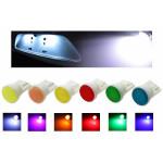 Лампы светодиодные Т10, 1cob зеленый, 2шт