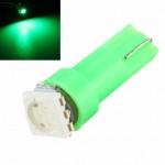Лампа светодиодная Т5 1smd5050 в панель приборов/зеленый