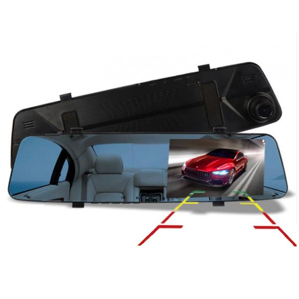 DVR Видеорегистратор в зеркале с камерой заднего хода
