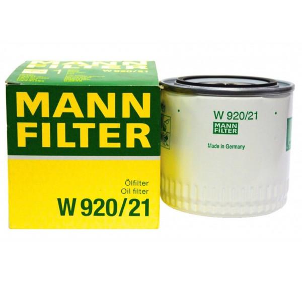 Фильтр масляный MANN W 920/21